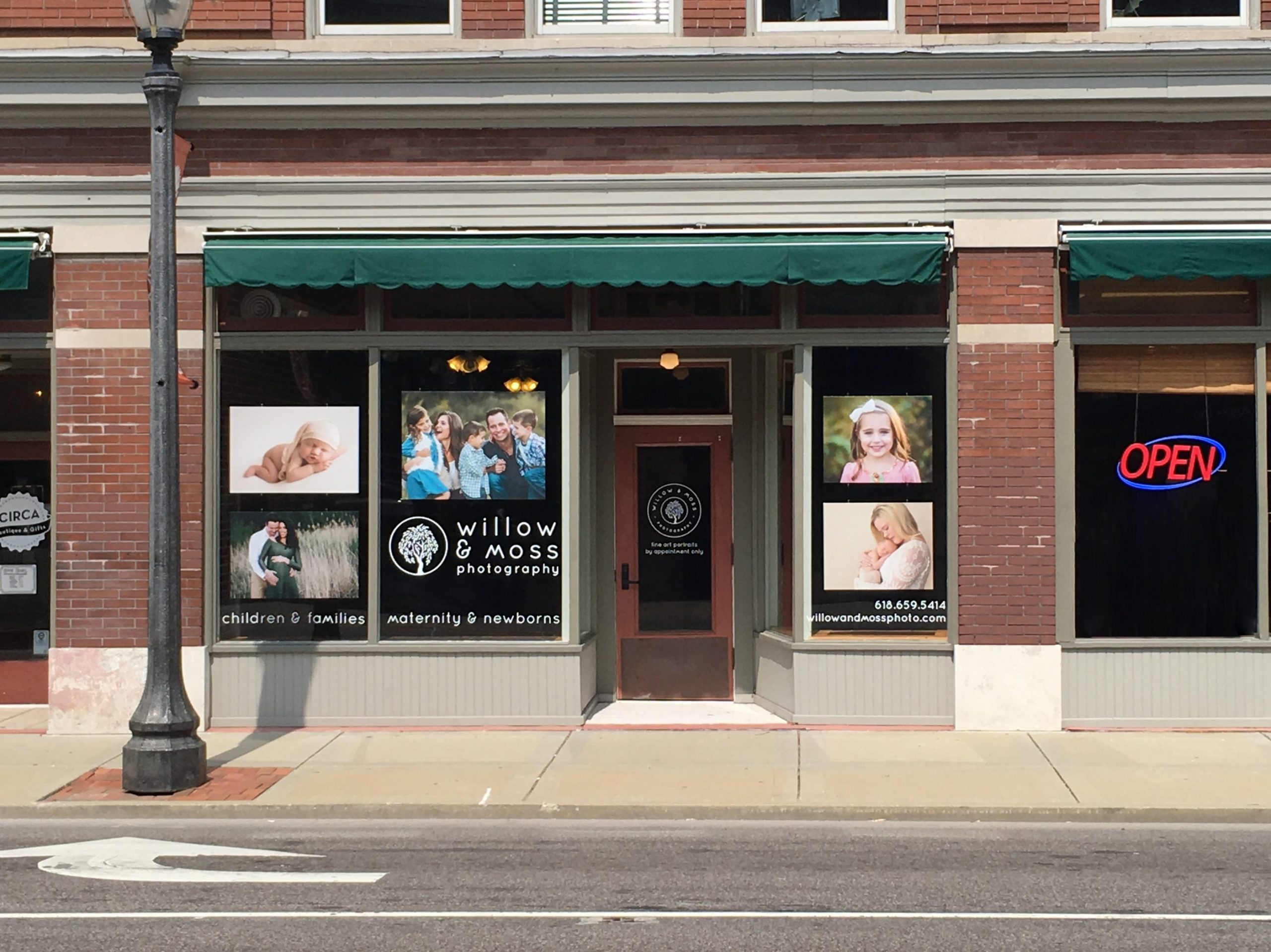 Edwardsville Photography Studio Storefront