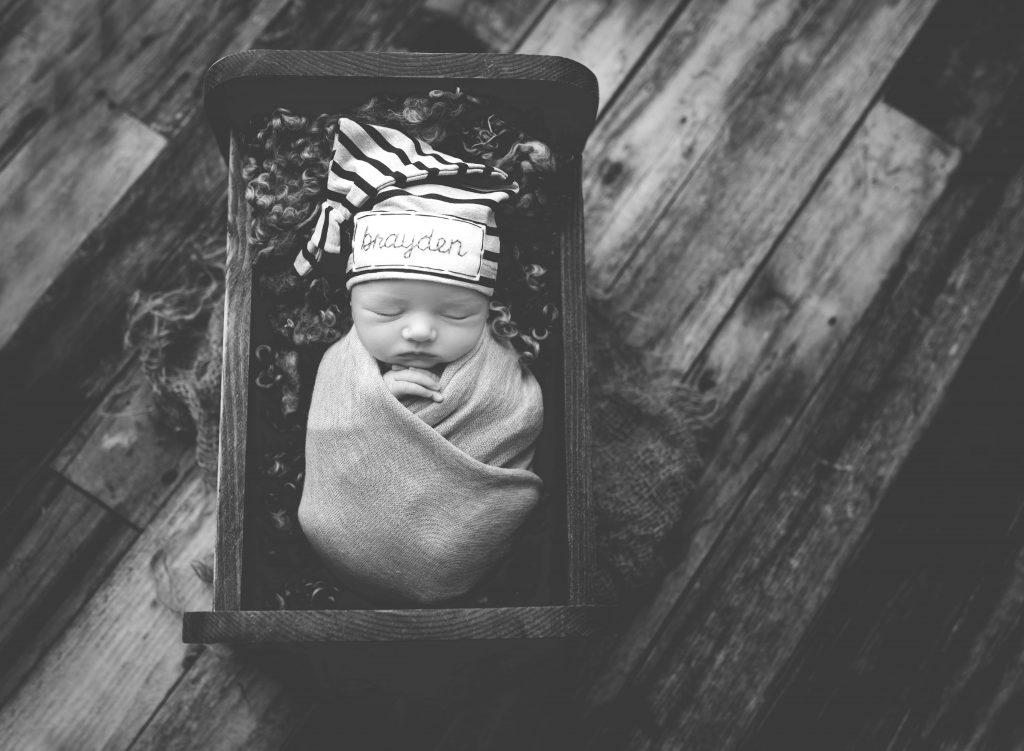 Newborn Photo Session Baby B