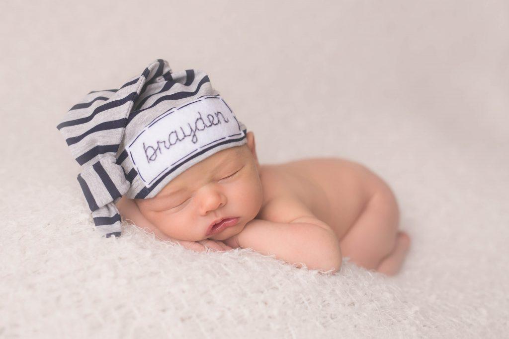 Newborn Photo Session {Baby B} 04
