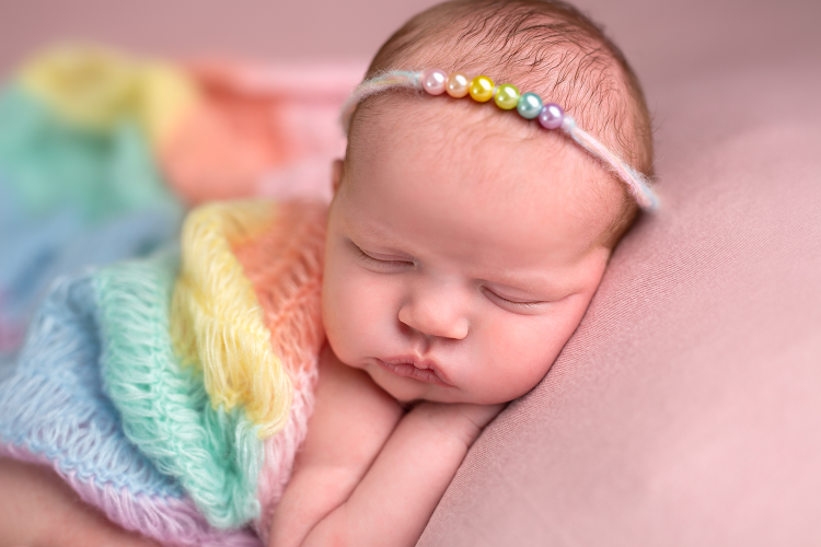 Rainbow Baby | St. Louis Newborn Photographer